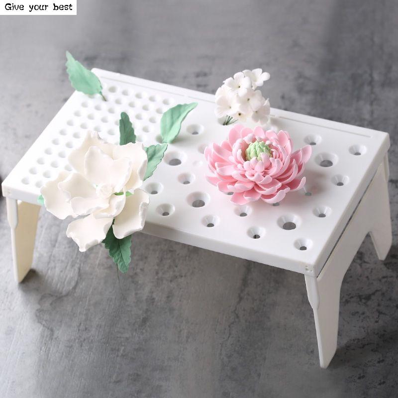 Помадка Инструменты для тортов помадка цветок формировании площадку Замороженные сахар для сушки одежды Формы для тортов для Кухня выпечк...