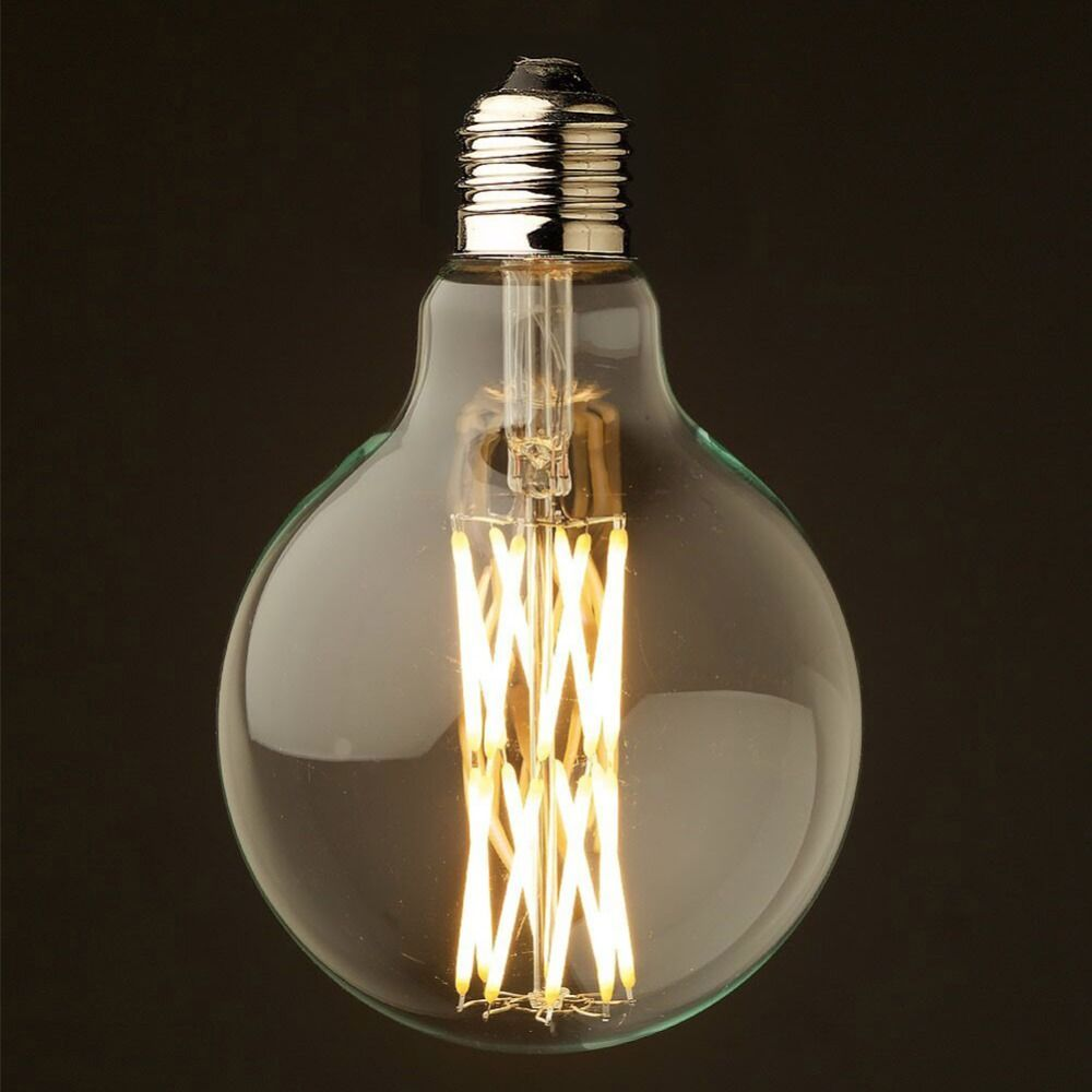 Dimmable,Edison G125 Bird's Nest Style,LED Filament Bulb,16W,Super Warm(2200K),Decorative Household Lighting