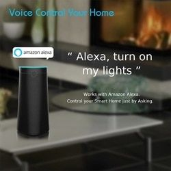 [Original]Smart Speaker Bluetooth Voice Controlled,Alexa AI Echo with improved sound,ABS+Fabric Material,for Smart Google Home