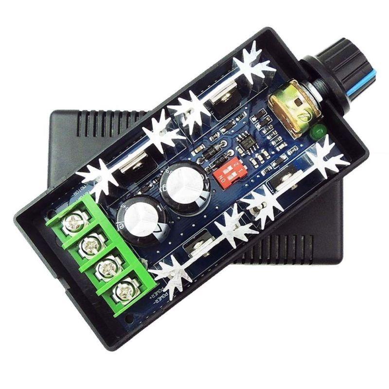 2000 W HHO PWM DC controlador de Velocidad Del Motor 12 V 24 V 36 V 48 V 40A de Impulsos De frecuencia Ajustable Controlador de ancho de Interruptor