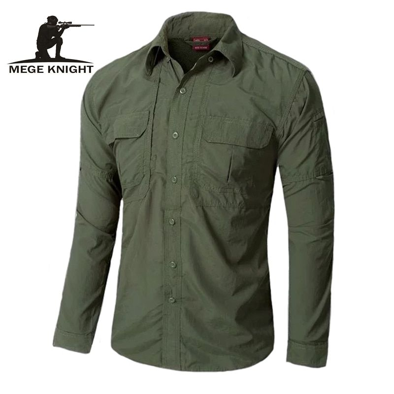 Urban tactical shirt OD casual shirt <font><b>fast</b></font> quick drying casual breathable clothing US military clothing
