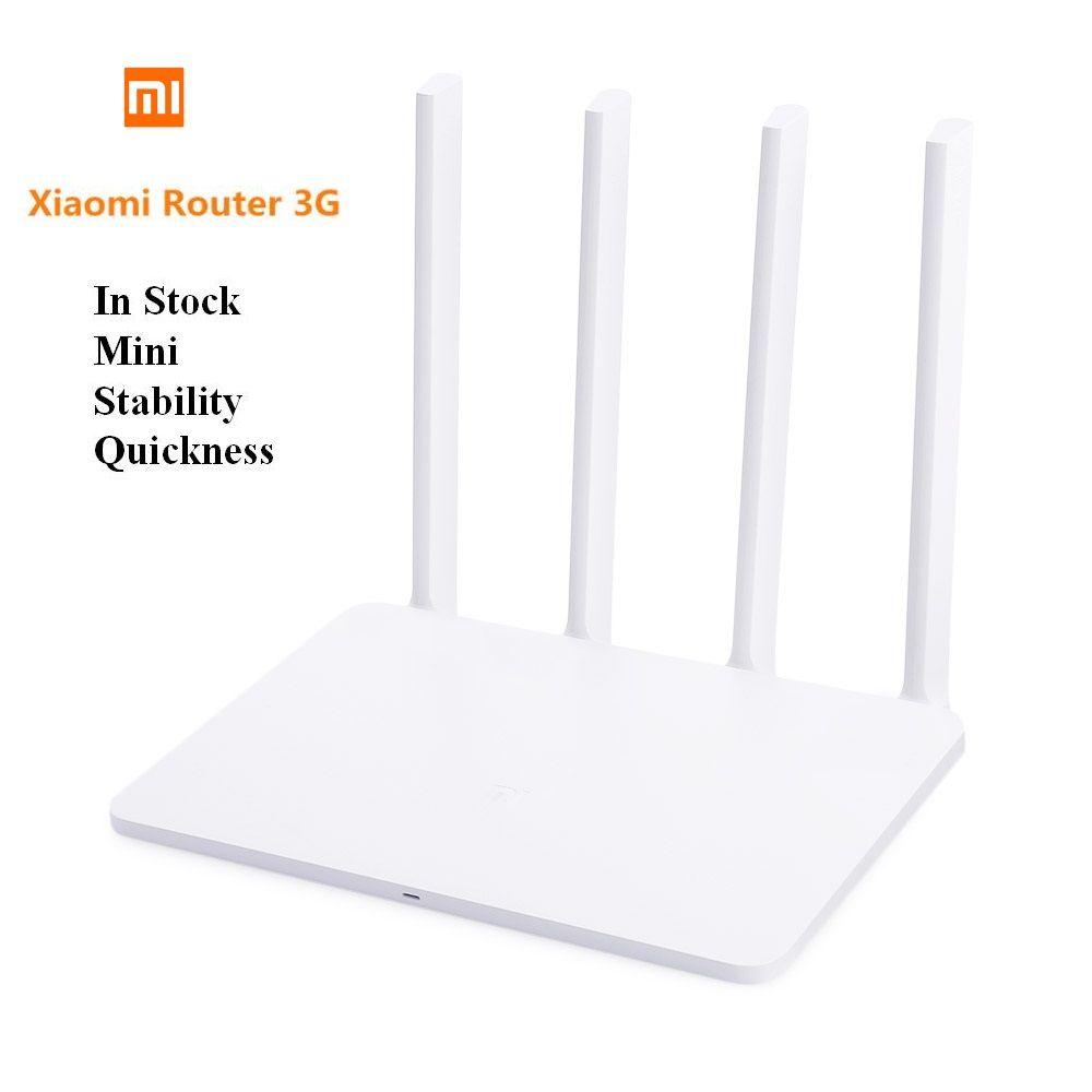 Xiao mi Routeur 3g 1167 Mbps 2.4 ghz/5 ghz Nouveau Style Plus Chaud Double Bande 128 mb ROM USB 3.0 US/EU/AU Plug mi WiFi Routeur