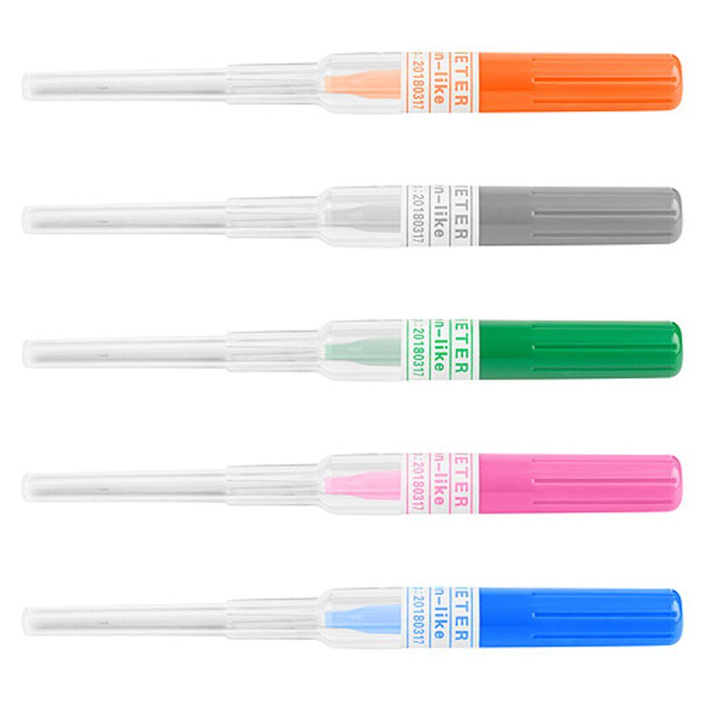 Professional Surgical Steel I.V. Catheter Cannula Body Piercing Sterile Needles 14G 16G 18G 20G 22G Supply