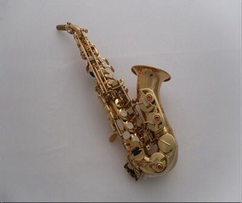 France Henri SElMER soprano saxophone Tom BB Soprano curve saxophone B created music instrument Saxophone for children sax