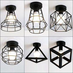Vintage Plafonniers Lamparas De Techo lustre Luminaria Abajur Lampe de Plafond Éclairage À La Maison Avize Luminaire Salon Lumières
