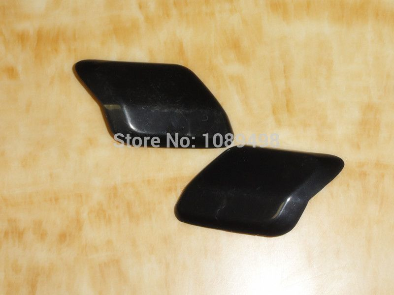 2 Pcs/Pair Front bumper head lamp headlight washer scrubber cover cap for Ford Mondeo MK4 2007-2009
