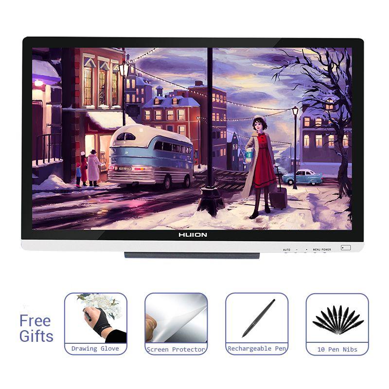 Huion GT-220 V2 Stift Display Monitor Professionelle Kunst Digitale Grafiken Zeichnung Stift Tablet Monitor 21,5 zoll HD mit 8192 Ebenen