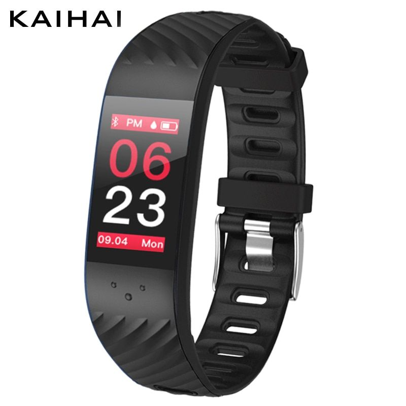 KAIHAI H62 color smartband blood pressure Heart rate Monitor sport smart Watch intelligent fitness tracker for android and ios