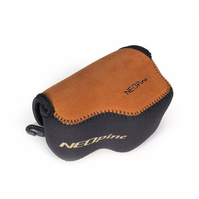 NEOPine Portable Neoprene Soft Waterproof Inner Camera Bag for SONY Alpha A6000 A6300 NEX-6 NEX6 16-50mm Camera Case Cover Pouch