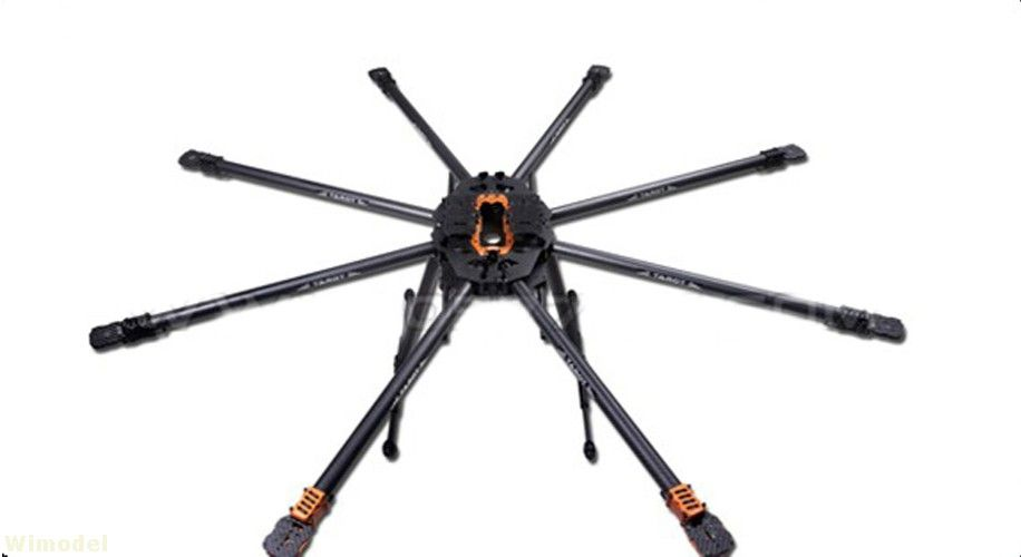 Tarot T18 Aerial Photography 25mm Carbon Fiber Plant Protection UAV TL18T00 Octocopter Frame Kit 1270MM for RC FPV Drone