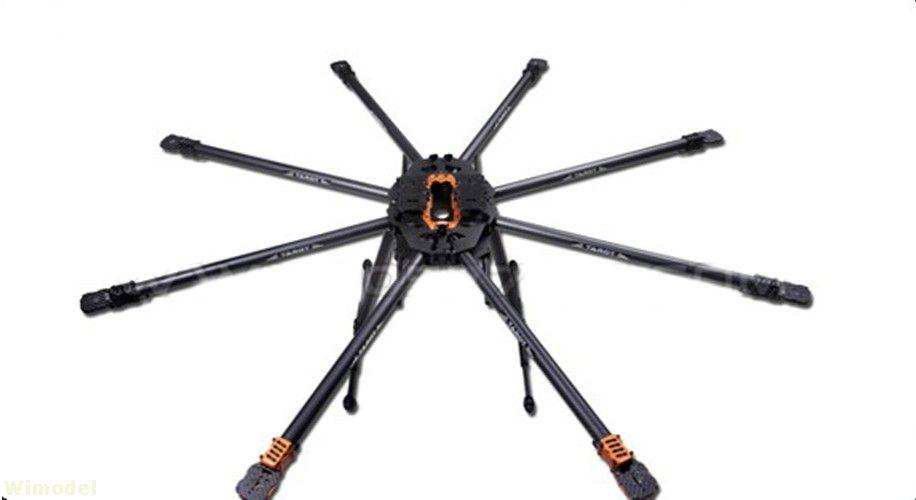 Tarot T18 Luftaufnahmen 25mm Carbon Fiber Anlage Schutz UAV TL18T00 Octocopter Rahmen Kit 1270mm für RC FPV drone