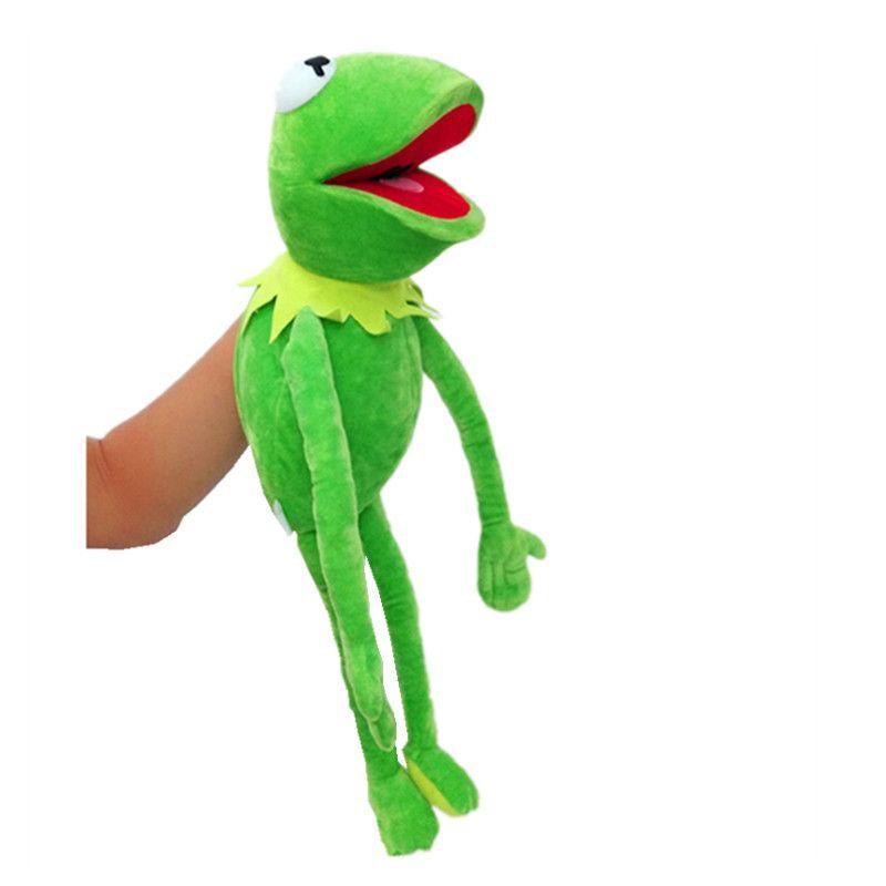 Sésame Street The Muppet Show 60 cm Kermit grenouille marionnettes peluche poupée jouets en peluche un cadeau d'anniversaire pour votre enfant