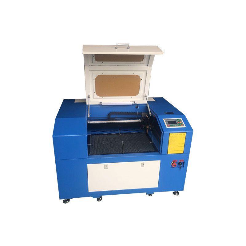 4060 Ruida control system 60 w mini laser gravur schneiden maschine mit oben und unten tabelle