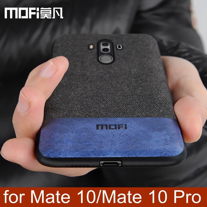 Huawei Mate 10 Pro housse mate10 coque arrière en silicone souple bord antichoc d'affaires coque MOFi Mate 10 Pro hommes cas 6.0