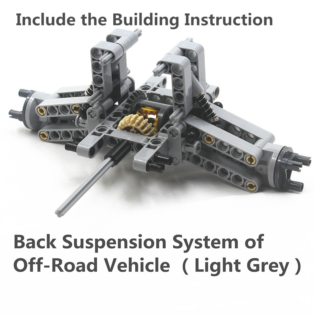 MOC Technic Parts 78pcs Rear Suspension System of Off-Road Vehicle compatible with lego for kids boys toy
