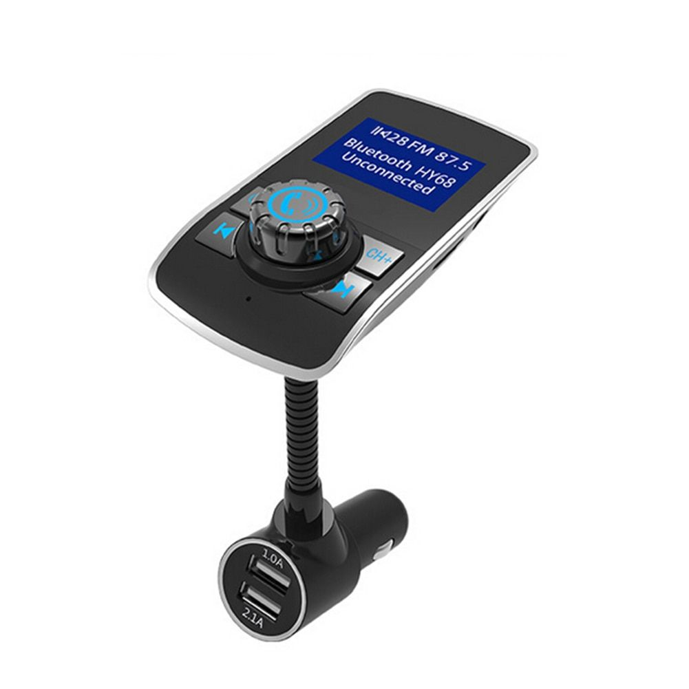 Wireless Bluetooth version V3.0 FM Transmitter Radio Car MP3 Music Player Receiving 5m 2 USB Charger for phones High Quality