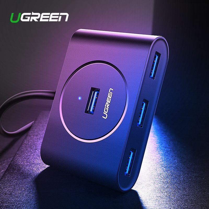 Ugreen USB HUB 3.0 externe 4 ports USB séparateur avec Micro USB Port d'alimentation pour iMac ordinateur accessoires d'ordinateur portable HUB USB 3.0