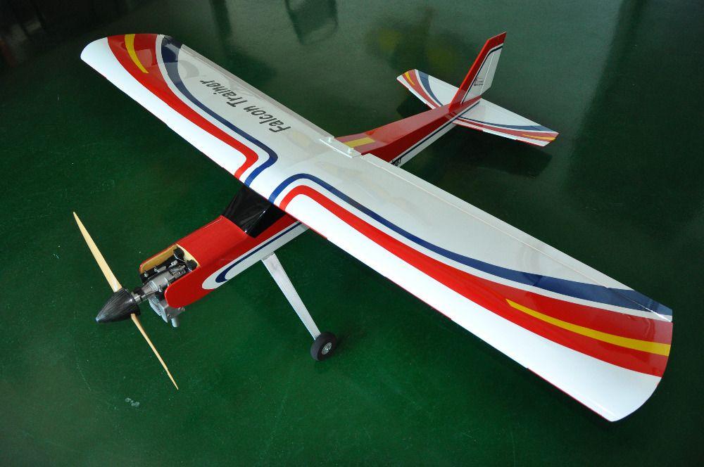Falcon Trainer 20cc Benzin RC Flugzeug Balsaholz Flugzeug-modell Flugzeug für Trainer