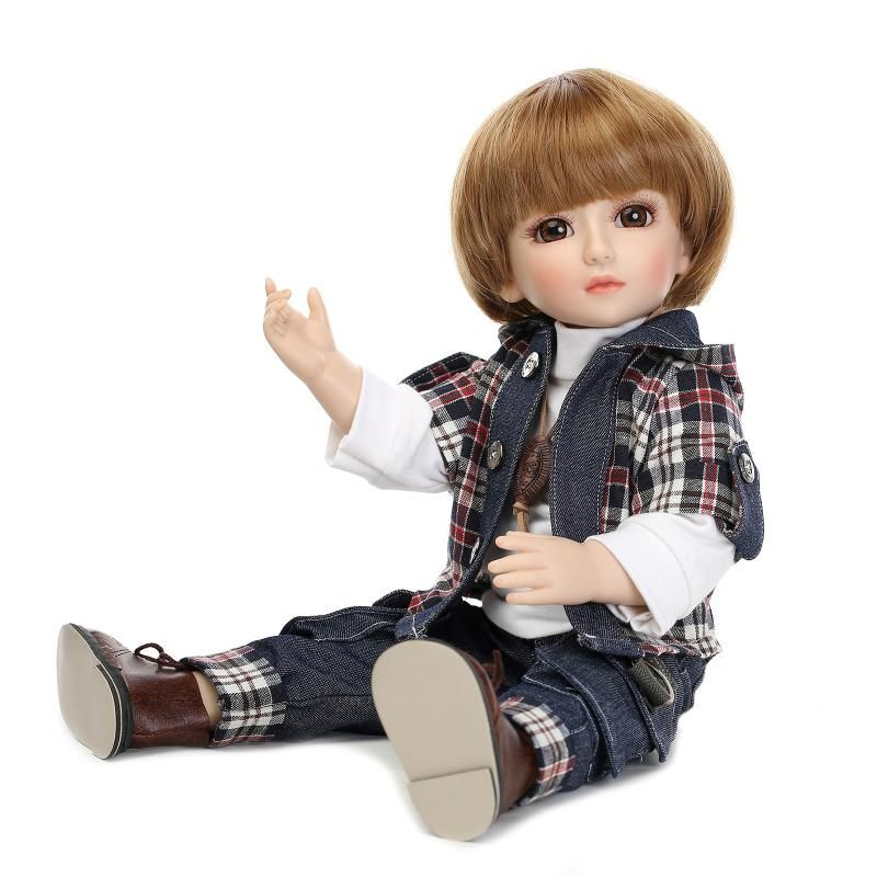 SD/BJD new popular plastic lifelike doll play house dress up doll for kids high-end christmas new year gift boutique collection