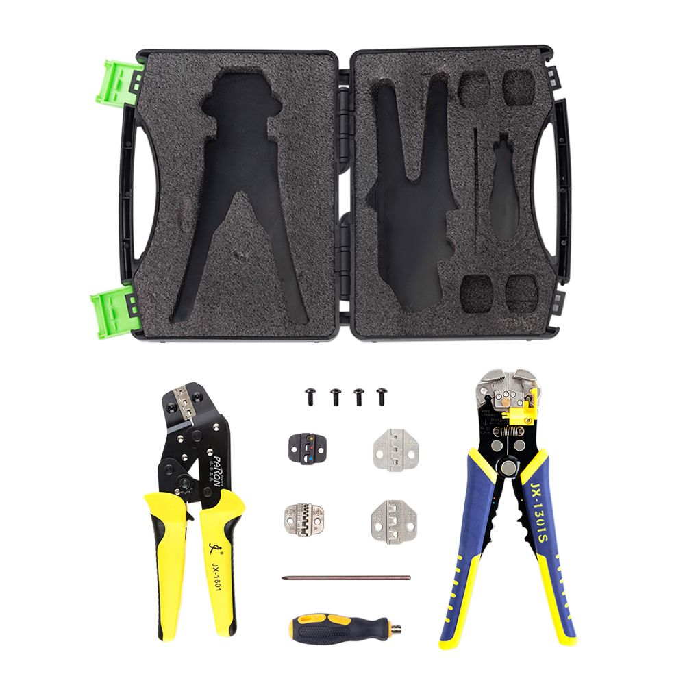 multitool Wire Crimpers Ratcheting Terminal Crimping Pliers Wire Ferrule Crimper Tool Cord End Terminals Pliers Kit