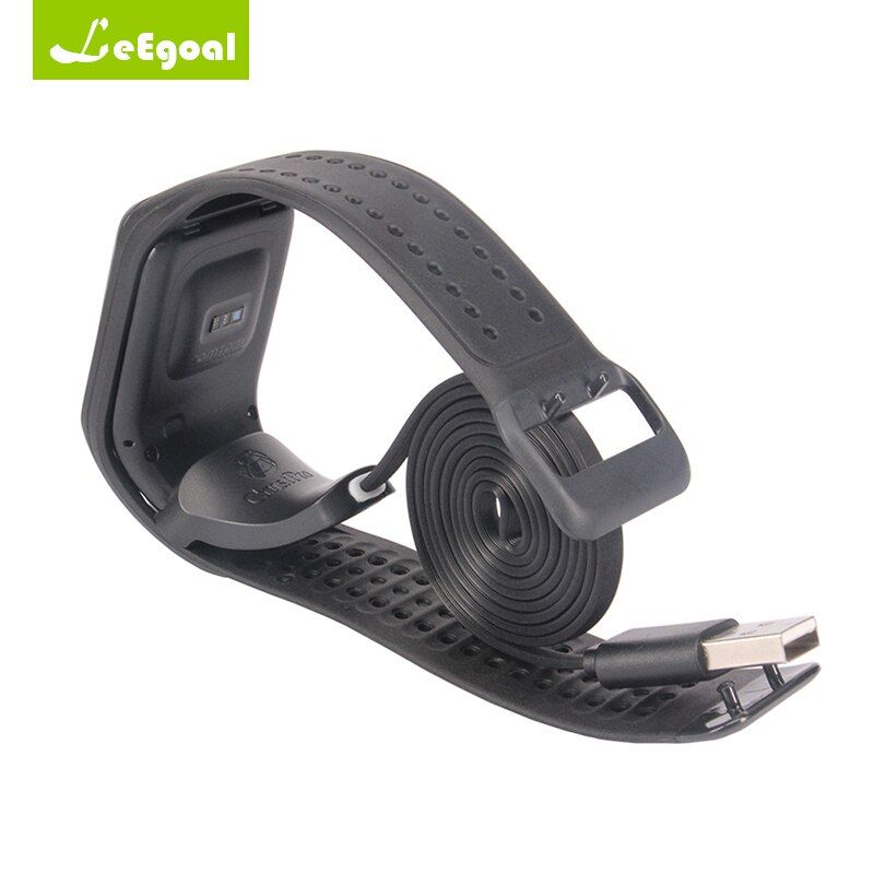 83cm USB Data Charging Cradle Cable Charger For TomTom Spark Cardio Sport Watch Clip Charging Charger Smart Watch Accessories