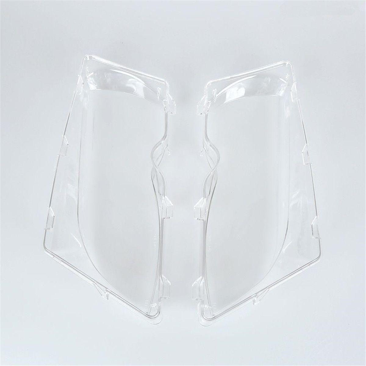 1Pir Auto Lichter Scheinwerfer Shell Lampe Abdeckung Glas für BMW E46 318i/320i/325i/325xi/330i /330xi (2002-2005) ersatz Objektiv
