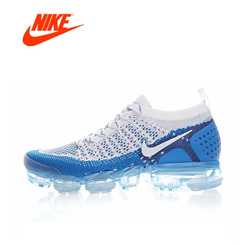 Original New Arrival Authentic NIKE AIR VAPORMAX 2.0 FLYKNIT Mens Running Shoes Sneakers Breathable Sport Outdoor Good <font><b>Quality</b></font>
