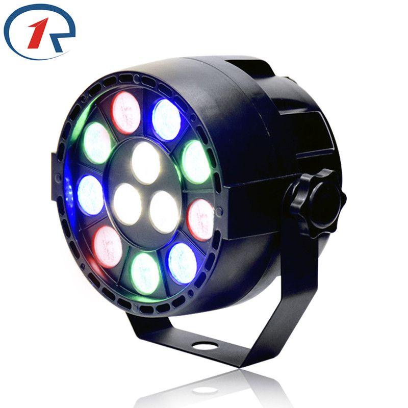 Zjright 15 Вт RGBW 12 LED PAR свет DMX512 управления звуком красочный свет этапа для музыки концерт бар КТВ дискотека эффект освещения
