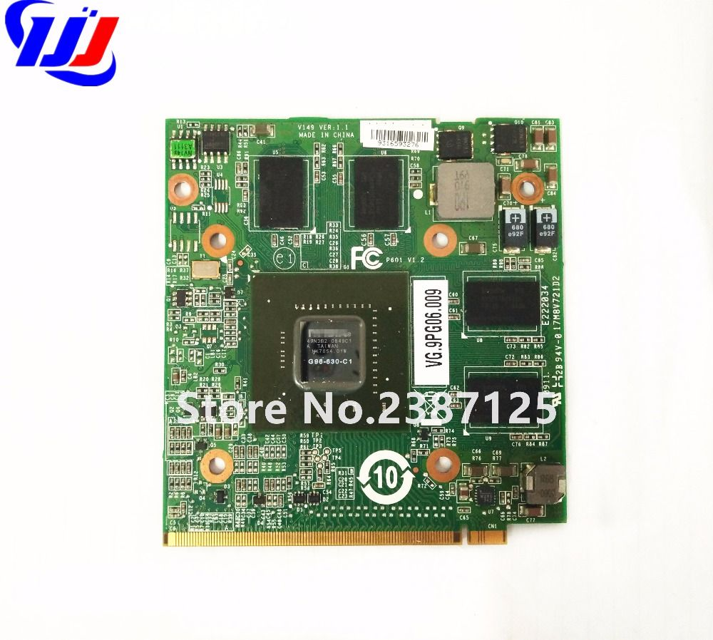 n V i d i a GeForce 9600M GT 1GB DDR2 G96-630-C1 Graphics Video Card for A c e r Aspire 4930G 6920G 6930G 7720G 8730G Laptop