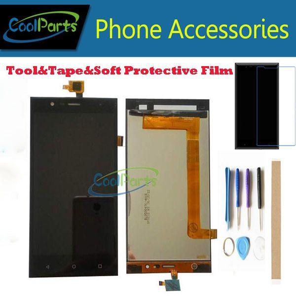 1PC/Lot For Highscreen Boost 3 Pro Boost 3 SE Boost 3 SE Pro Highscreen Boost 3 LCD Display+Touch Screen Sensor Black Color+Kits