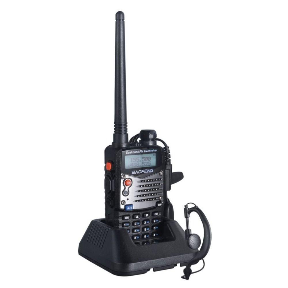 Best UV-5RA Professional Hand-held Transceiver FM Radio Receiver Walkie-talkie Interphone Scanner Dual Band EU Plug Dual-Standby