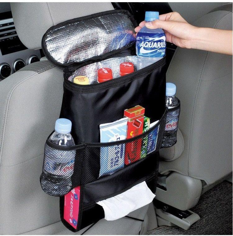 Tragbare Auto Rücksitz Tasche Zubehör Veranstalter Taschen bebe Wagen Kinderwagen Buggy Warenkorb Kinderwagen Flasche Tasse Lagerung Inhaber mamabeutel
