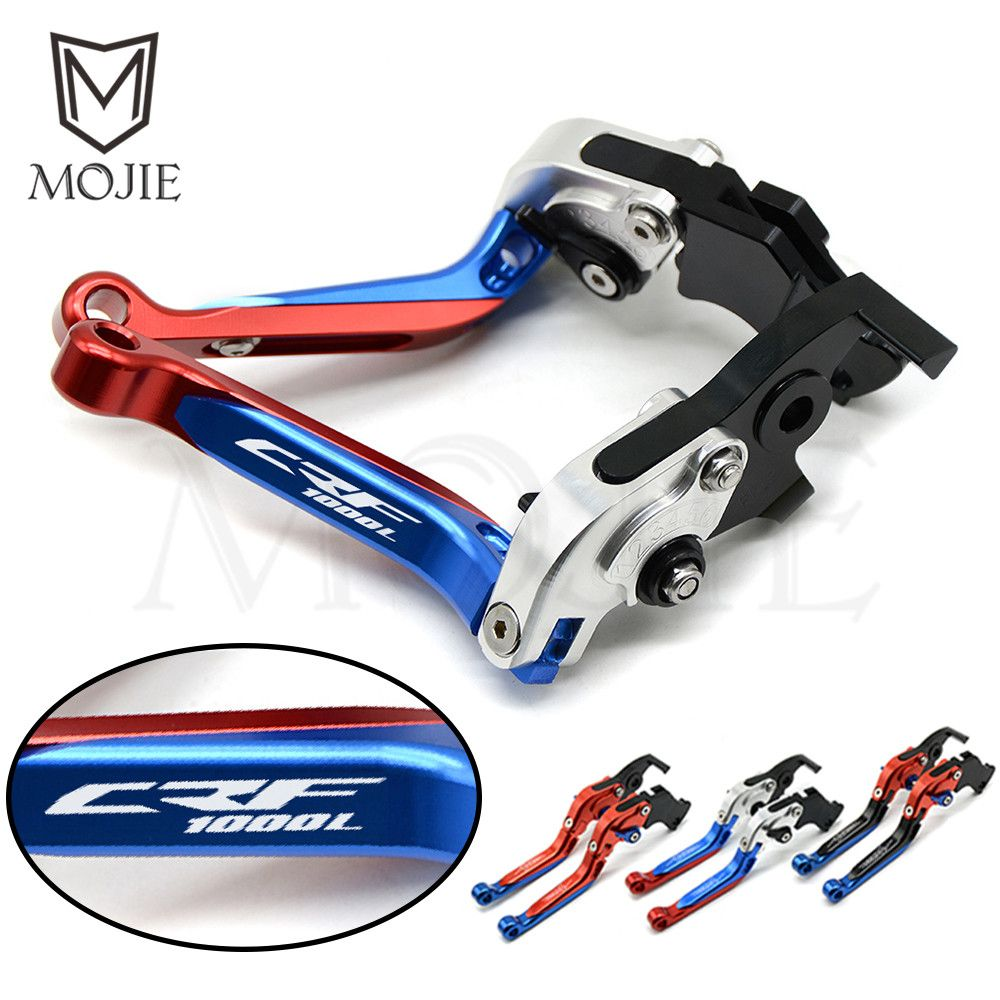 For Honda CRF1000L Africa Twin 2015-2018 2016 2017 CRF 1000L Levers Motorcycle Adjustable Folding Extendable Brake Clutch Levers