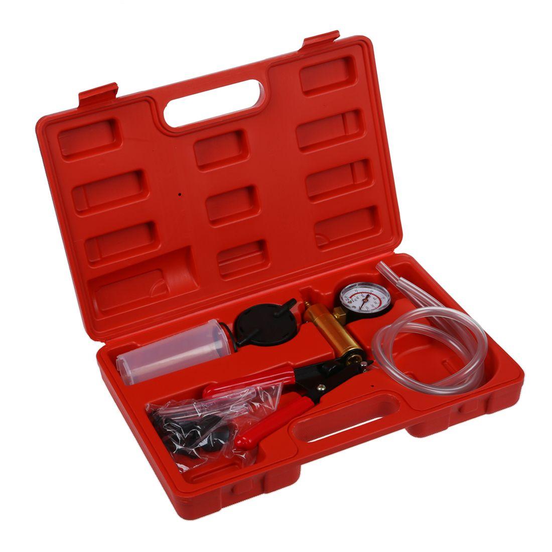 Vacuum Tester, Vacuum Pump Kit, Car Tool, Vacuum Testing Tool and <font><b>Brake</b></font> Bleeder