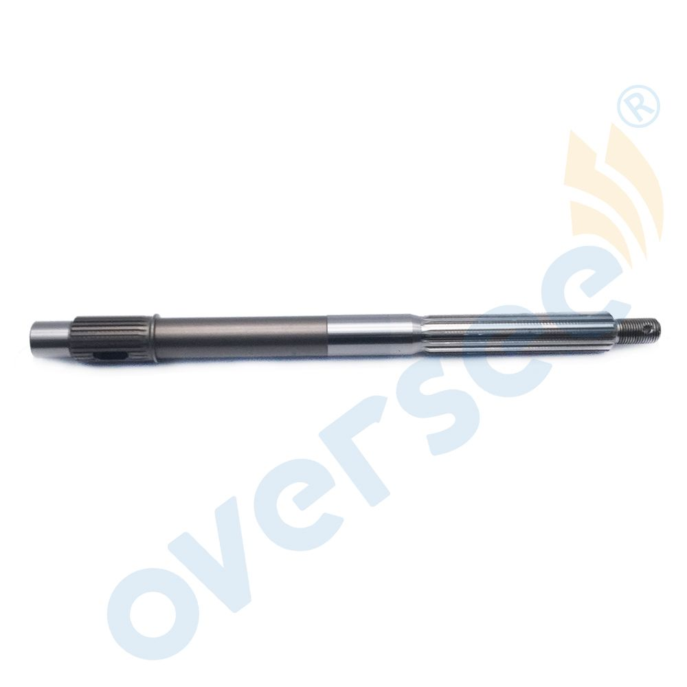 66T-45611-00 Propeller Shaft for Yamaha F25 F40 and 40X HP Outboard Engine Boat Motor Aftermarket Parts 66T-45611