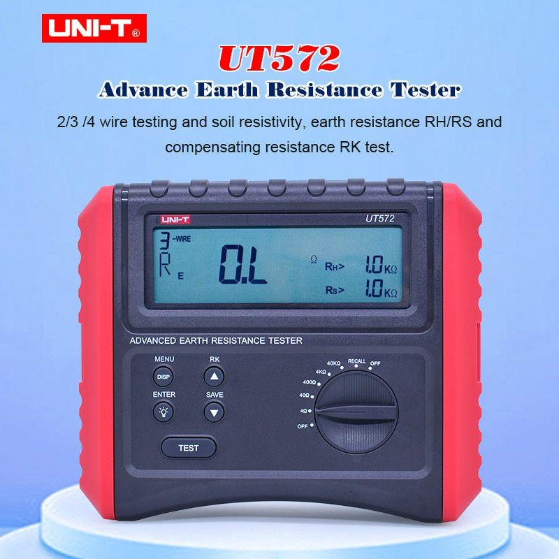UNI-T UT572 Voraus Erde Reistance Tester Boden Widerstand Test/Boden Widerstand Test Daten Lagerung Lcd-hintergrundbeleuchtung