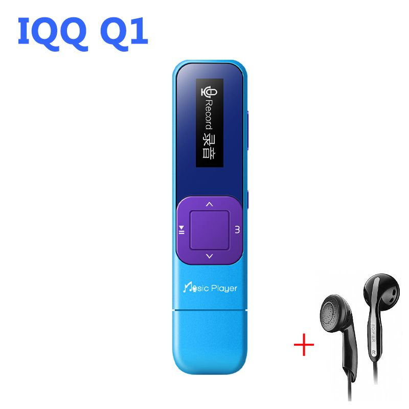 Mini radio fm usb mp3 Lecteur 8 GB sans perte hifi lecteur mp-3 avec radio reproducteur mp 3 usb lecteur IQQ Q1 mp-3 lecteur flash fm