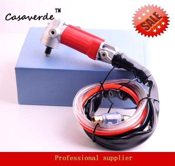 free shipping arbor 5/8-11 DC-ELA01 Rear Exhaust air polisher stone angle grinder machine for polishing stone