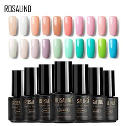 ROSALIND Gel 1 7 ml VENTE CHAUDE 29 COULEURS Vernis À Ongles Nail Art Nail Gel Polish UV LED Gel Polish semi Permanent Vernis