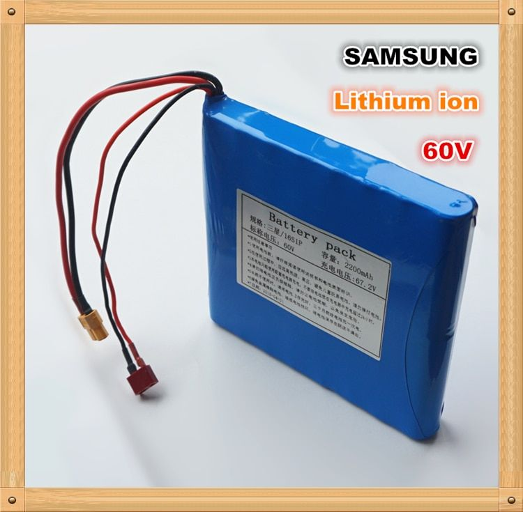 100% Original for SAMSUNG 60V 132WH Dynamic Li-ion Rechargeable Battery 2200mAh for Electric unicycles,E-scooters Power BankS