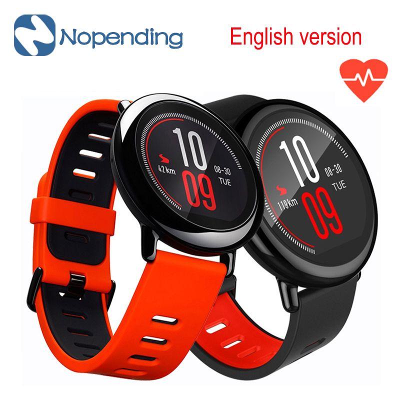 In stock!! [English Version] Original HUAMI AMAZFIT Sport Smart Watch Smartwatch Bluetooth WiFi GPS Heart Rate For Xiaomi Phone