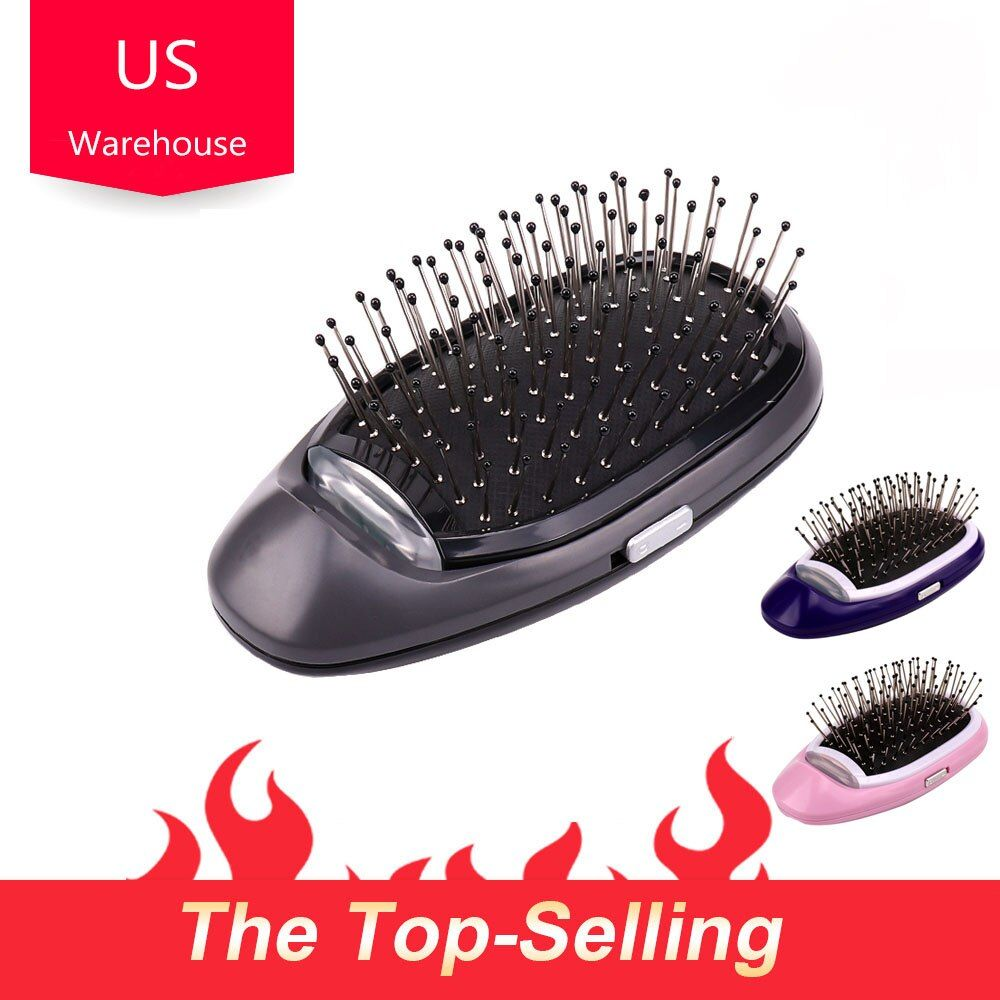 Livraison directe cheveux Styling Massage peigne brosse à cheveux cuir chevelu brosse à cheveux peigne pour VIP client US entrepôt