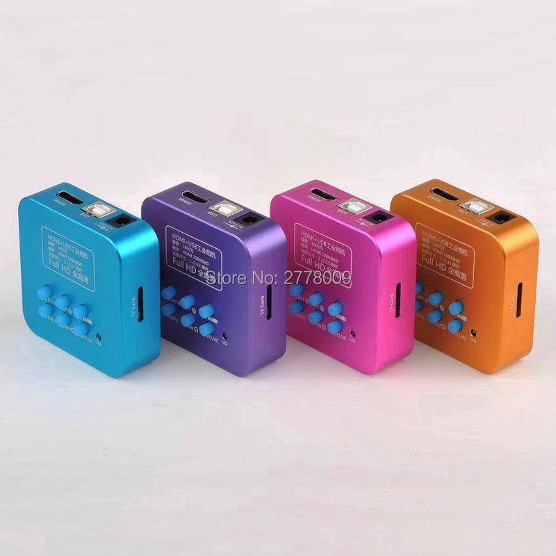 20MP Full HD 1080P 60FPS HDMI USB HD Output Industry C-Mount Microscope Video Camera Remote Control Mobile Phone CPU Repair