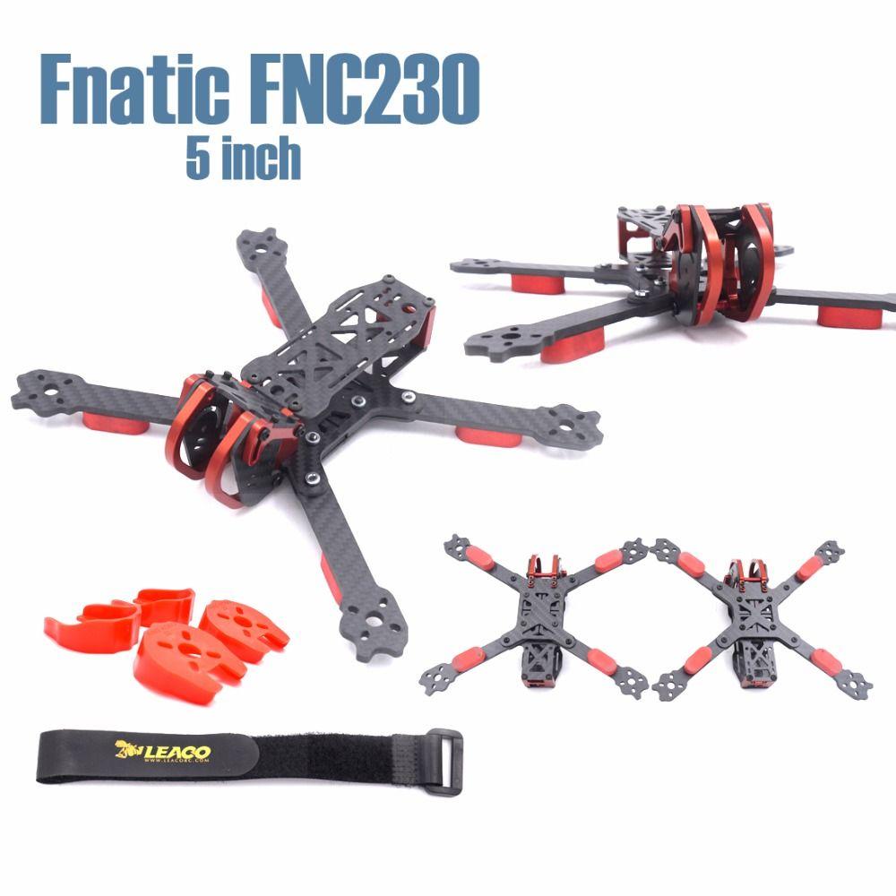 Fnatic FNC230 230mm 5 zoll HX und trueX aluminium teile einstellbare carbon faser rahmen Quadcopter FPV Racing Drone