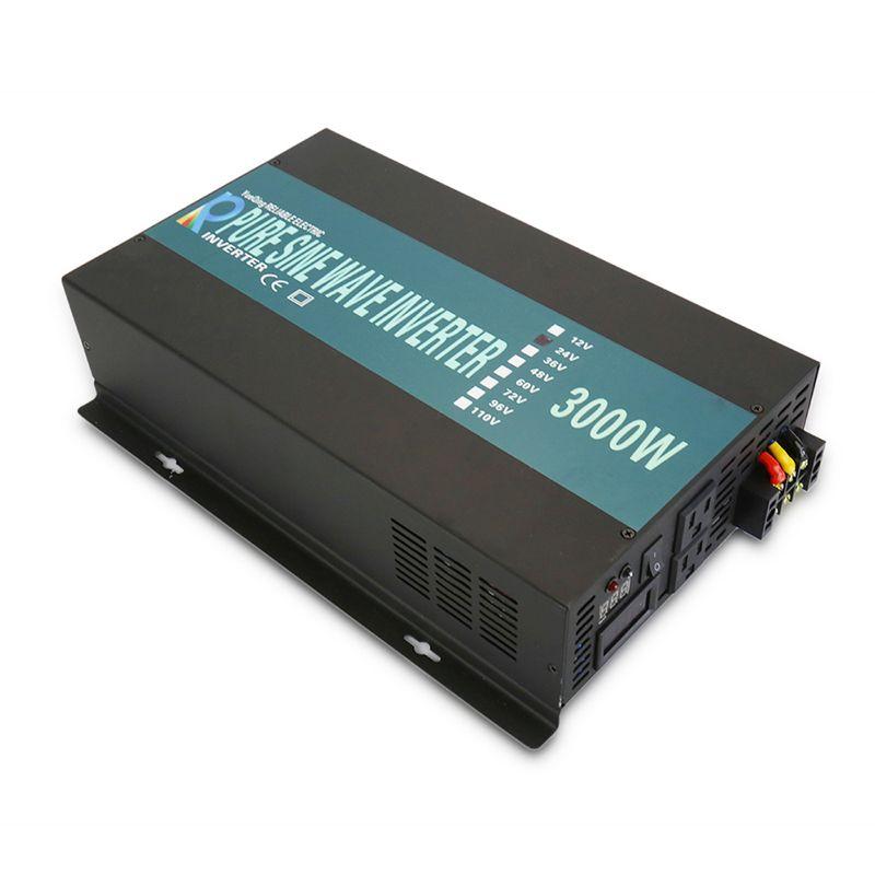 3000 W Auto Power Inverter 24 V 220 V Reine Sinus-wechselrichter Solar System DC zu AC Konverter Transformatoren 12 V/48 V zu 120 V/230 V/240 V