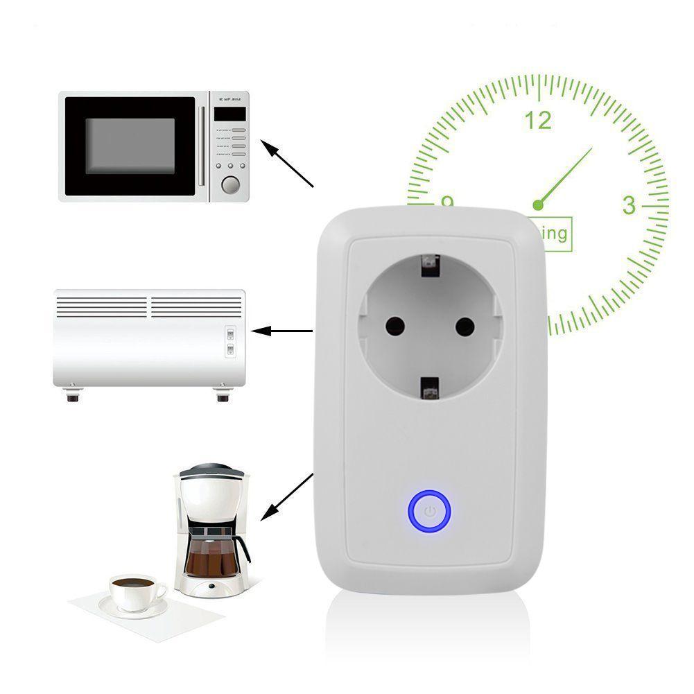 Sans fil WiFi Prise Intelligente Potable Smart Power Socket UE/US Plug Wifi Télécommande Commutateur 220 v Pour iOS android