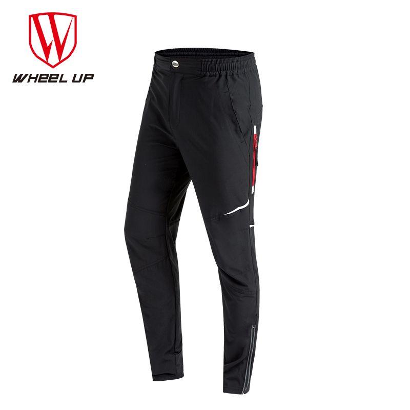 WHEEL UP Spring Autumn Men <font><b>Cycling</b></font> Pants Long Sport Bike Pants Quick Dry Anti-sweat Breathable Bicycle Trousers <font><b>Cycling</b></font> Clothing