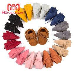 Baru Lahir Bayi Sepatu Anak Laki-laki Klasik Tampan Pertama Walkers Sepatu Bayi Bayi Balita Lembut Bersol Sepatu 5 Warna Pilihan