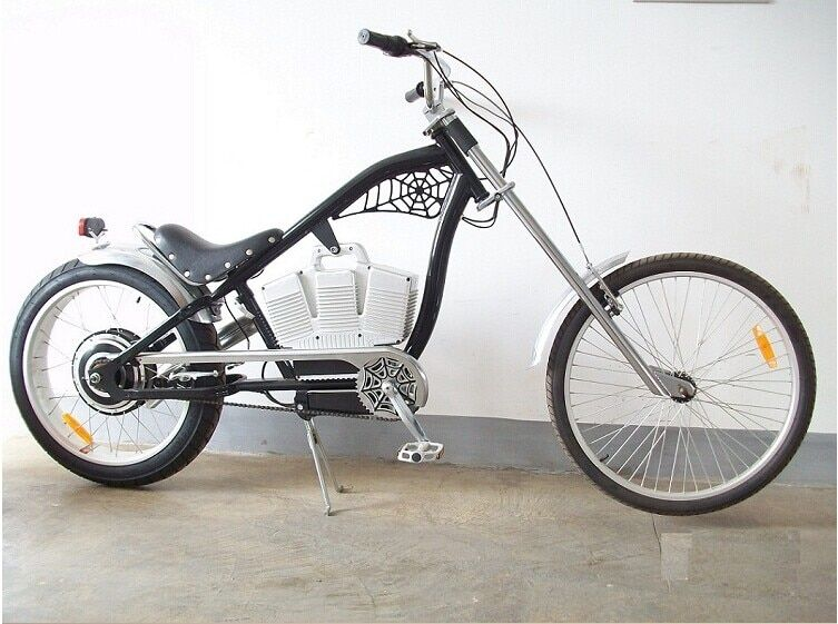 Luxury electric bicycle black red super creative electric bike 48V 500W + 48V 10AH lithium battery electric bikes Haly