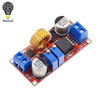 Оригинальный 5A DC CC CV литиевых Батарея шаг Подпушка зарядки LED Мощность конвертер литиевых Зарядное устройство шаг Подпушка модуль xl4015